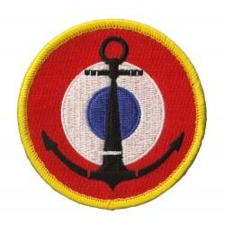 Patche écusson Marine Nationale Française Velcros