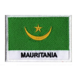 Patche drapeau Mauritanie
