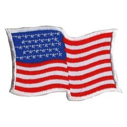 Patche drapeau USA Etats-Unis