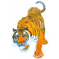 Patche dorsal thermocollant Tigre Royal