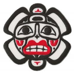 Patche écusson thermocollant Soleil Haida