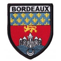Patche écusson thermocollant Bordeaux