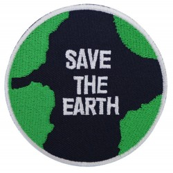 Patche écusson thermocollant Save the Earth