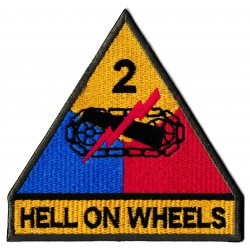 Patche écusson thermocollant Hell on wheels fury