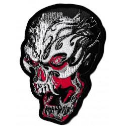 Patche écusson thermocollant skull art Tattoo tete de mort