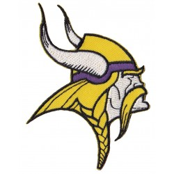 Patche écusson thermocollant Minnesota Vikings