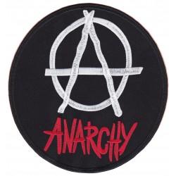 Patche dorsal thermocollant anarchia anarchie