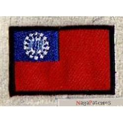 Patche écusson petit drapeau Myanmar