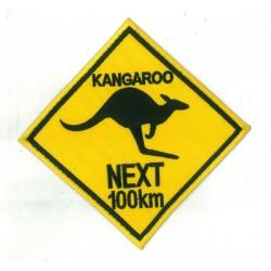 Patche écusson thermocollant Kangourou