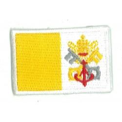 Patche écusson petit drapeau Vatican
