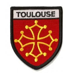 Patche écusson thermocollant Toulouse