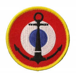 Patche écusson Marine Nationale Française Velcros