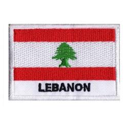 Aufnäher Patch Flagge Libanon