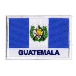 Patche drapeau Guatemala
