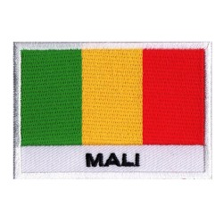Aufnäher Patch Flagge Mali