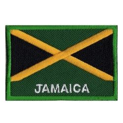 Flag Patch Jamaica