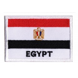 Aufnäher Patch Flagge Ägypten