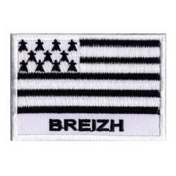 Toppa  bandiera Bretagna Breizh