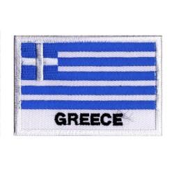 Parche bandera Grecia