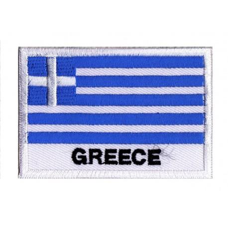 Patche drapeau Grèce