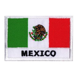 Parche bandera México