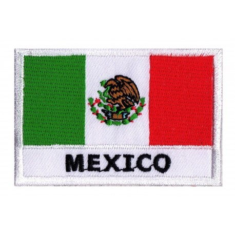 Patche drapeau Mexique