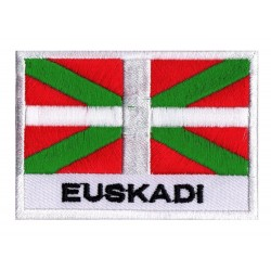 Flag Patch Euskadi Basque Country