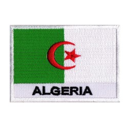 Flag Patch Algeria