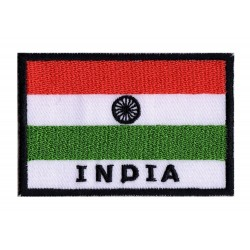 Aufnäher Patch Flagge Indien