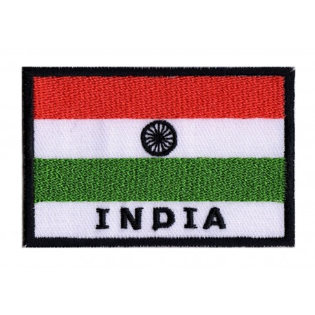 Patche drapeau Inde