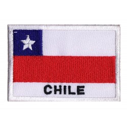 Patche drapeau Chili
