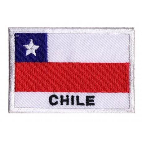 Patche drapeau Chili