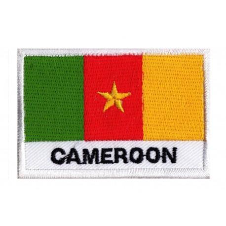 Aufnäher Patch Flagge Kamerun