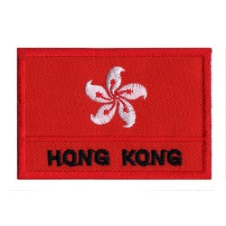 Patche drapeau Hong Kong