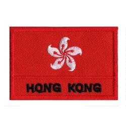 Toppa  bandiera Hong Kong