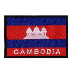 Patche drapeau Cambodge