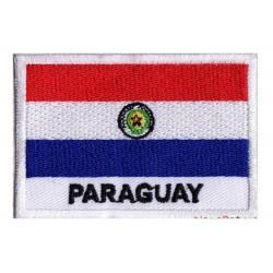 Patche drapeau Paraguay