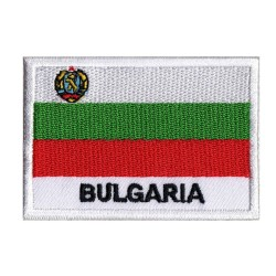 Aufnäher Patch Flagge Bulgarien