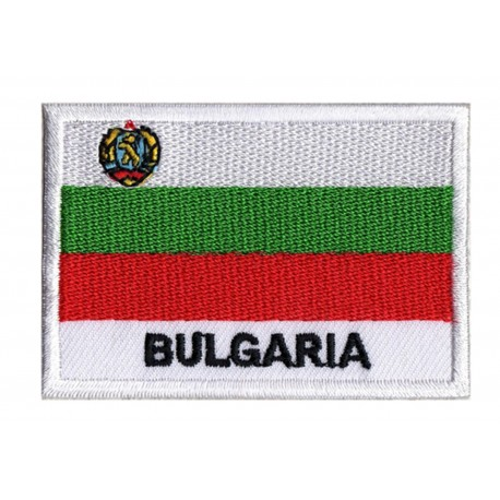 Aufnäher Patch Flagge Bulgarien