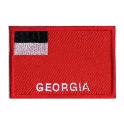 Parche bandera Georgia