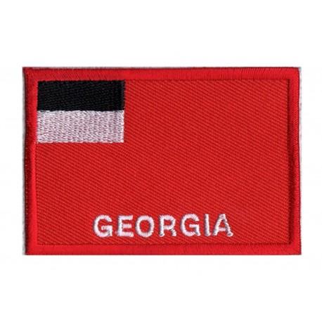 Patche drapeau Géorgie (ancien)