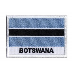 Flag Patch Botswana