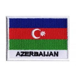 Aufnäher Patch Flagge Aserbaidschan