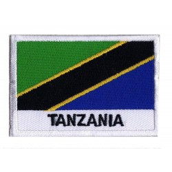 Parche bandera Tanzania