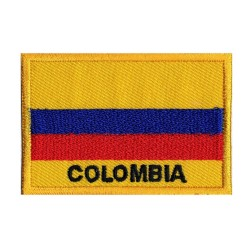 Patche drapeau Colombie