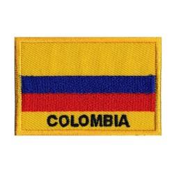 Toppa  bandiera Colombia