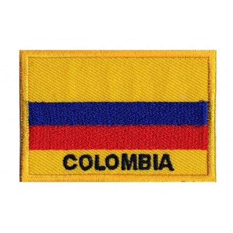 Aufnäher Patch Flagge Kolumbien