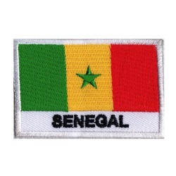 Aufnäher Patch Flagge Senegal