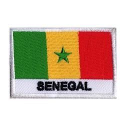 Patche drapeau Sénégal