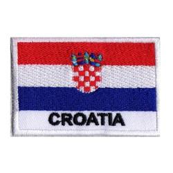 Parche bandera Croacia